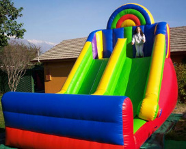 Juego Inflable Doble Tobogan